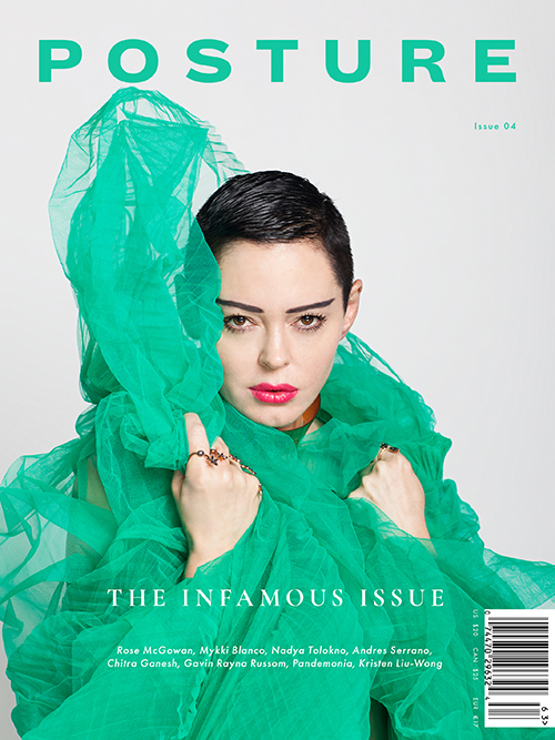 Posture Issue 04 Cover Rose McGowan